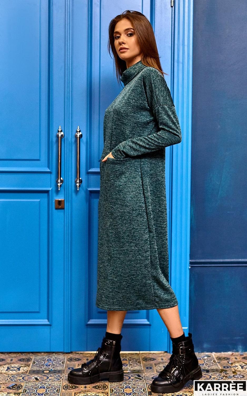 Платье Эрика, Темно-зеленый - фото 7