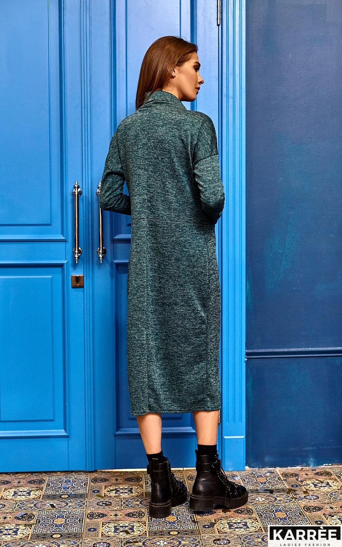Платье Эрика, Темно-зеленый - фото 8