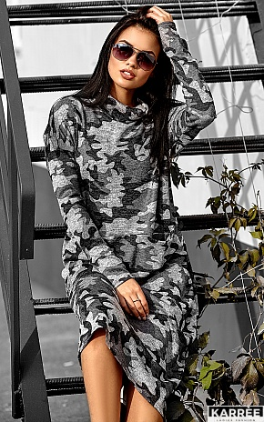 Платье Эрика, Комбинированный - фото 4