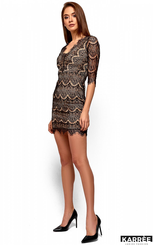 Платье Янина, Черный - фото 3