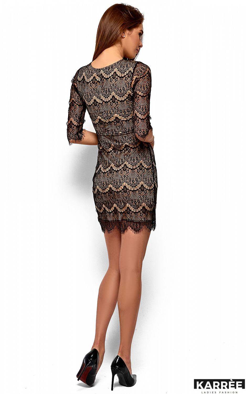 Платье Янина, Черный - фото 4