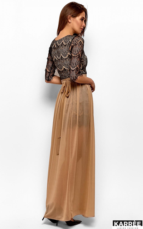 Платье Янина, Черный - фото 6
