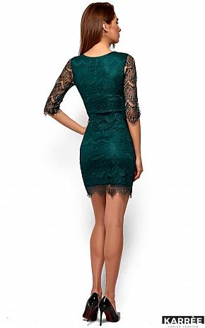 Платье Янина, Темно-зеленый - фото 6