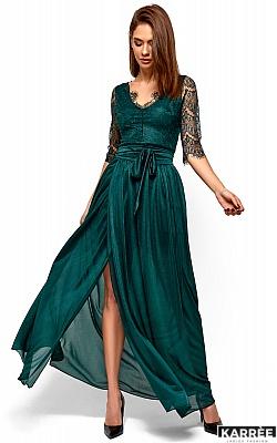 Платье Янина, Темно-зеленый