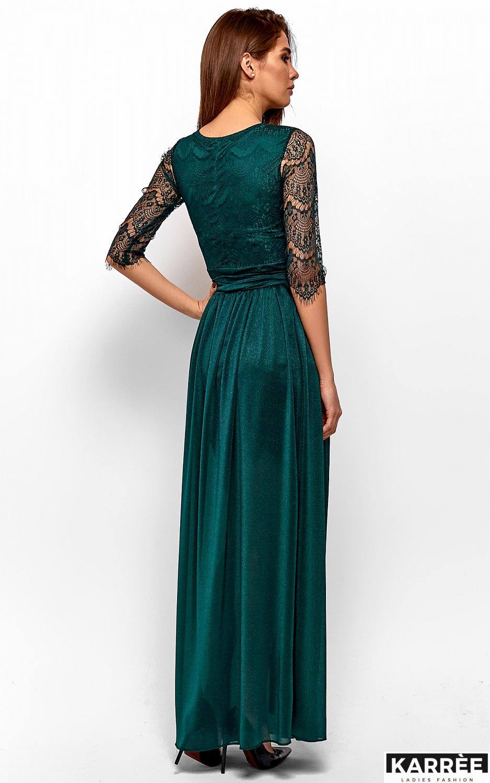 Платье Янина, Темно-зеленый - фото 3
