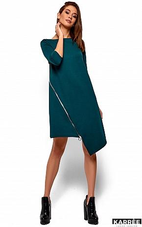 Платье Океана, Темно-зеленый - фото 2