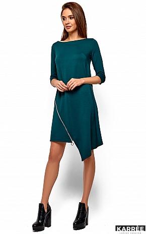 Платье Океана, Темно-зеленый - фото 3