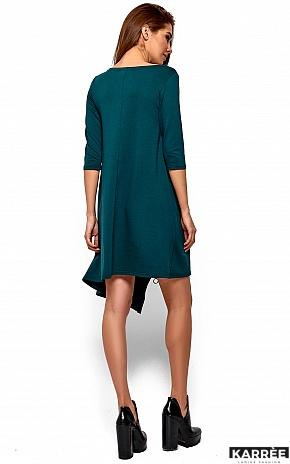Платье Океана, Темно-зеленый - фото 4