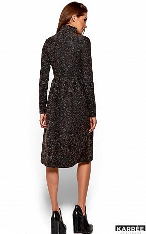 Платье Алина, Темно-серый - фото 4