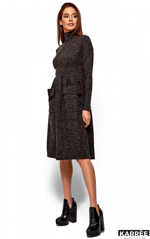 Платье Алина, Темно-серый - фото 3