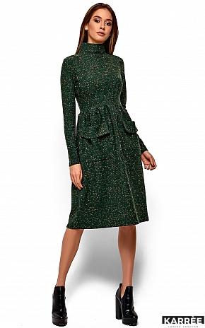 Платье Алина, Зеленый - фото 2