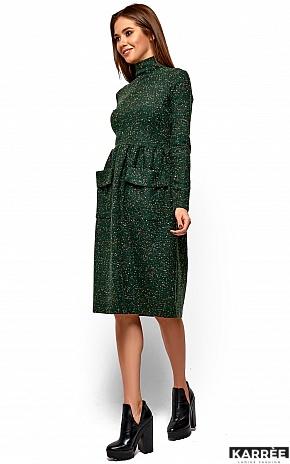Платье Алина, Зеленый - фото 3