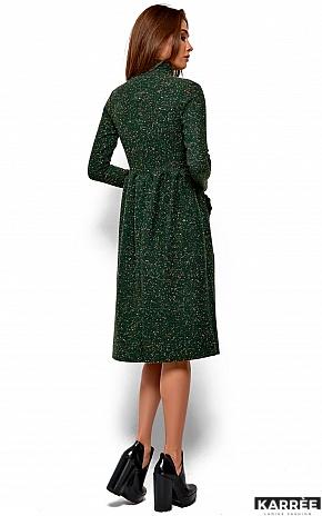 Платье Алина, Зеленый - фото 4