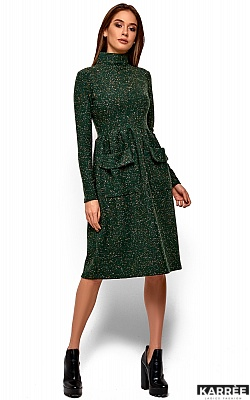 Платье Алина, Зеленый