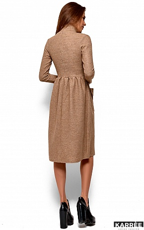 Платье Алина, Бежевый - фото 4