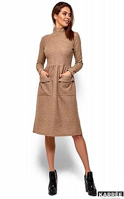 Платье Алина, Бежевый