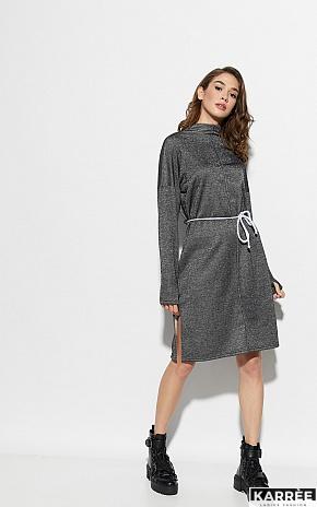 Платье Алиса, Черный - фото 2