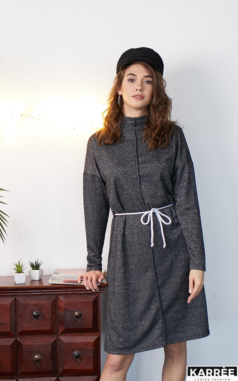 Платье Алиса, Черный - фото 1
