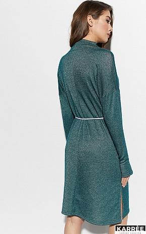 Платье Алиса, Темно-зеленый - фото 4