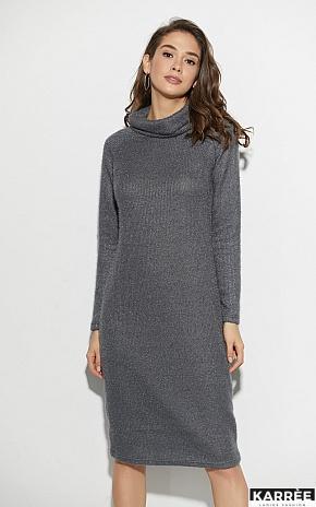 Платье Аляска, Темно-серый - фото 2