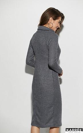 Платье Аляска, Темно-серый - фото 3