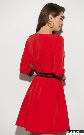 Платье Инфинити, Красный - фото 3