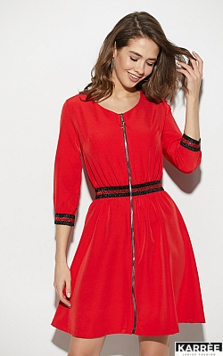 Платье Инфинити, Красный