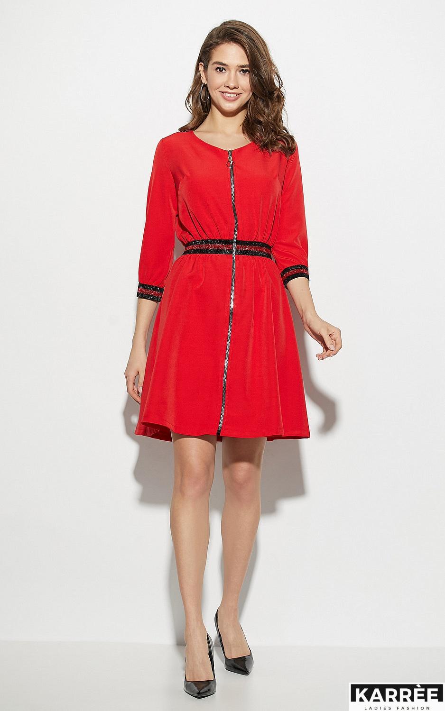 Платье Инфинити, Красный - фото 1