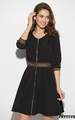 Платье Инфинити, Черный