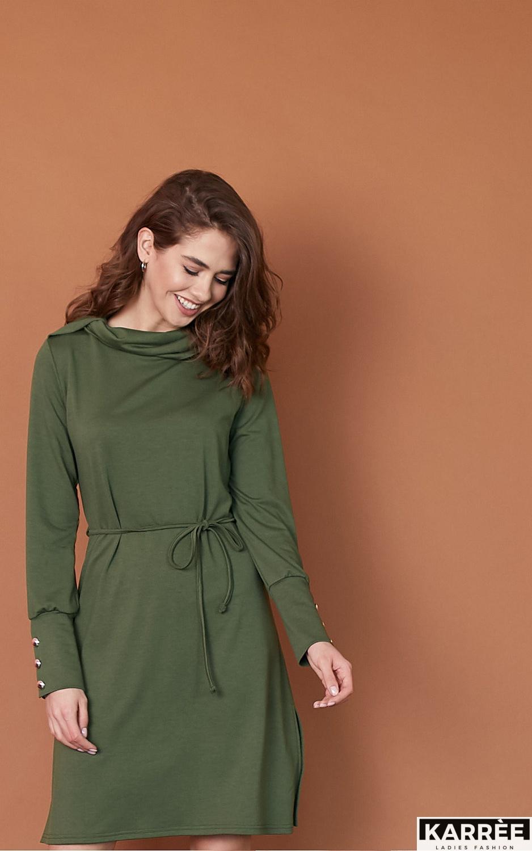 Платье Милтон, Хаки - фото 1
