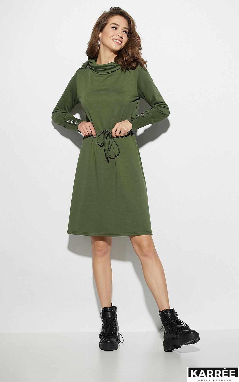 Платье Милтон, Хаки - фото 2