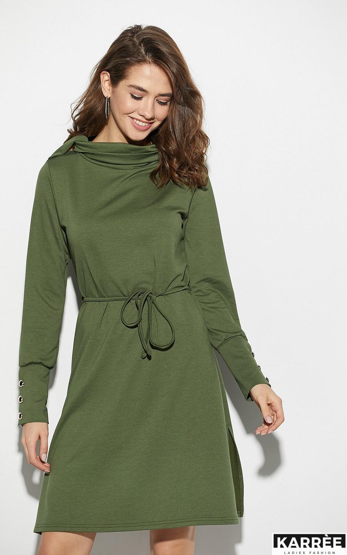 Платье Милтон, Хаки - фото 3