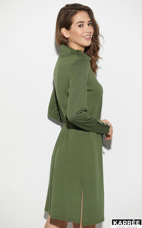 Платье Милтон, Хаки - фото 4