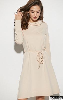 Платье Милтон, Бежевый