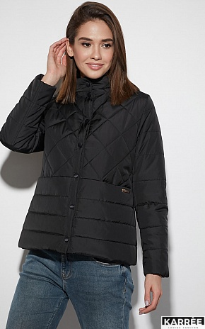 Куртка Кэрол, Черный - фото 2