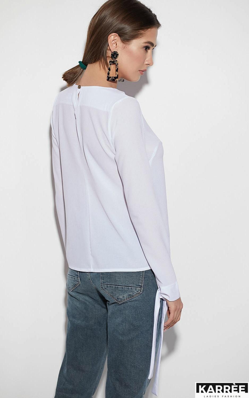 Блуза Мелания, Белый - фото 3