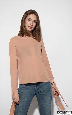 Блуза Мелания, Бежевый - фото 6