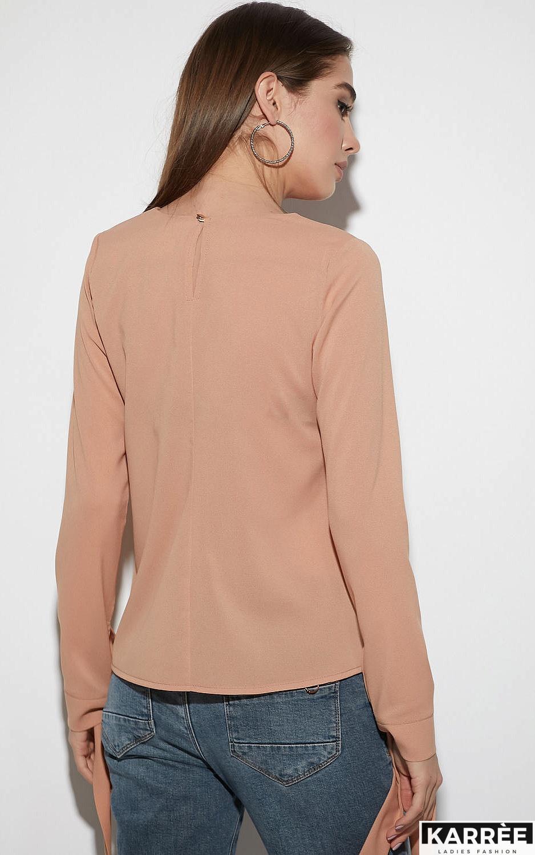 Блуза Мелания, Бежевый - фото 7