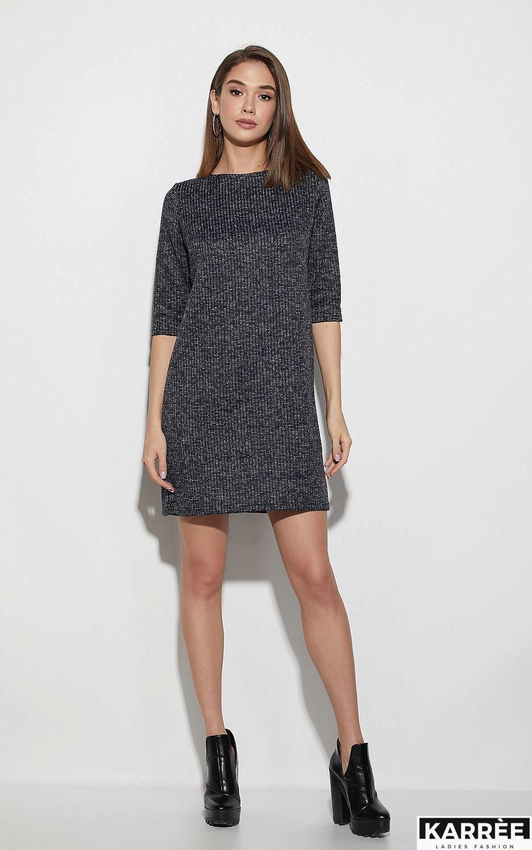 Платье Риана, Темно-синий - фото 1