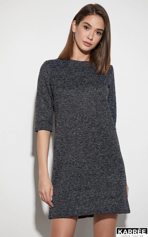 Платье Риана, Темно-синий - фото 2