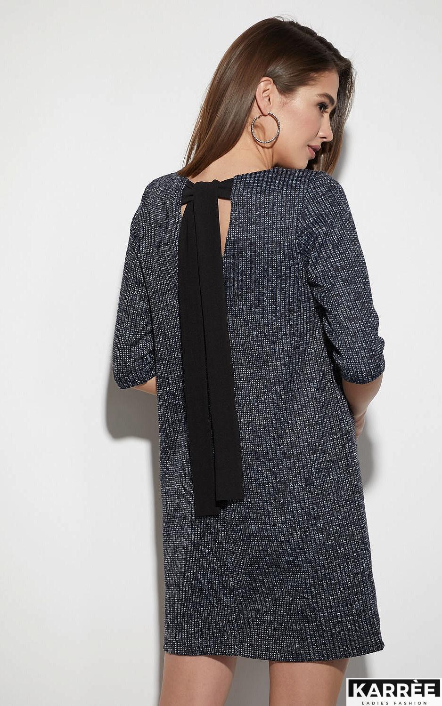Платье Риана, Темно-синий - фото 3