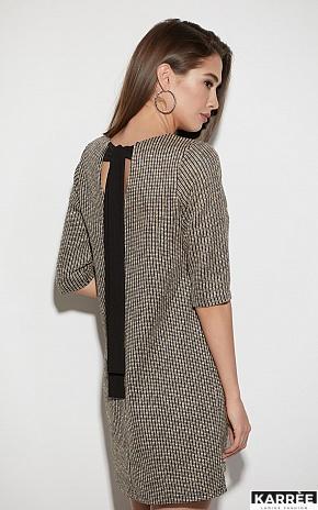 Платье Риана, Бежевый - фото 3