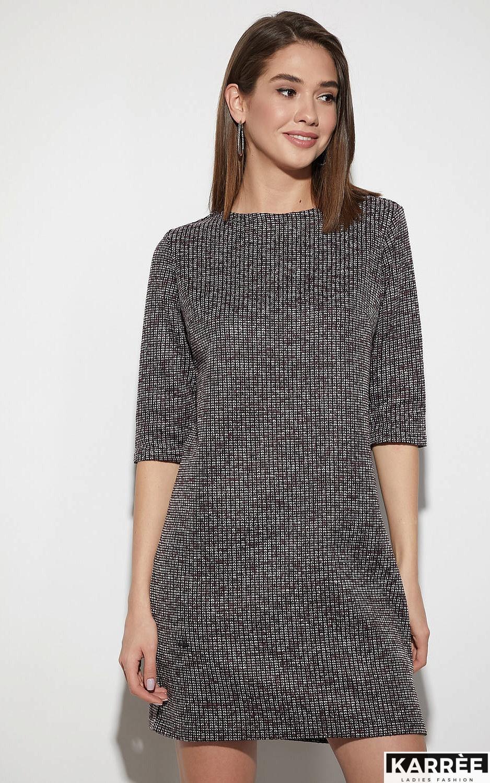 Платье Риана, Бордо - фото 2