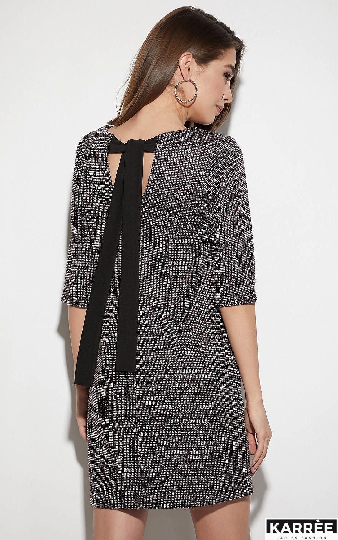 Платье Риана, Бордо - фото 3