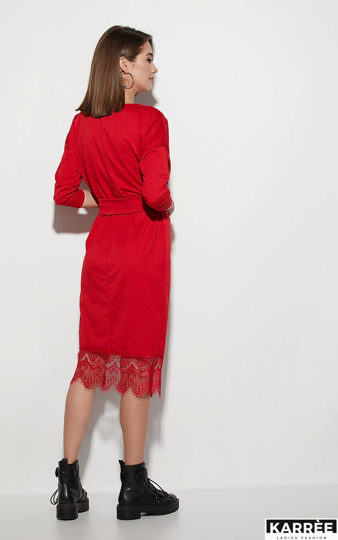 Платье Карина, Красный - фото 3