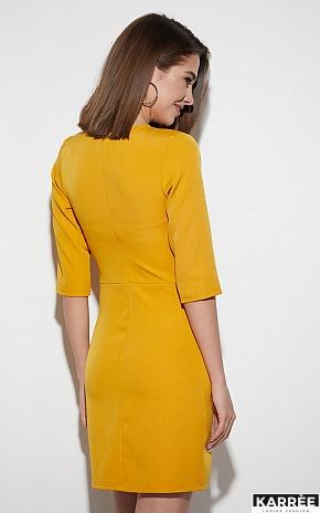 Платье Кайли, Горчичный - фото 4
