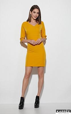 Платье Кайли, Горчичный