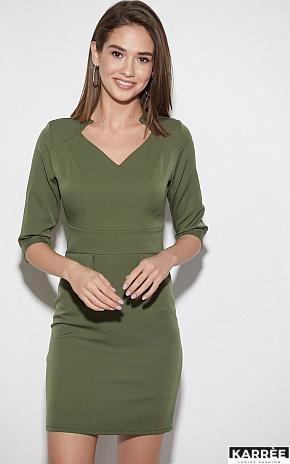 Платье Кайли, Хаки - фото 2