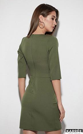 Платье Кайли, Хаки - фото 3