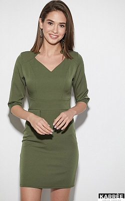 Платье Кайли, Хаки